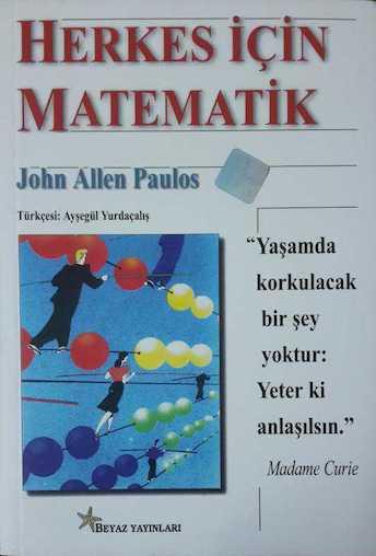 John Allen Paulos Herkes İçin Matematik Pdf E-kitap indir
