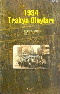 Rıfat N. Bali 1934 Trakya Olayları Pdf E-kitap indir