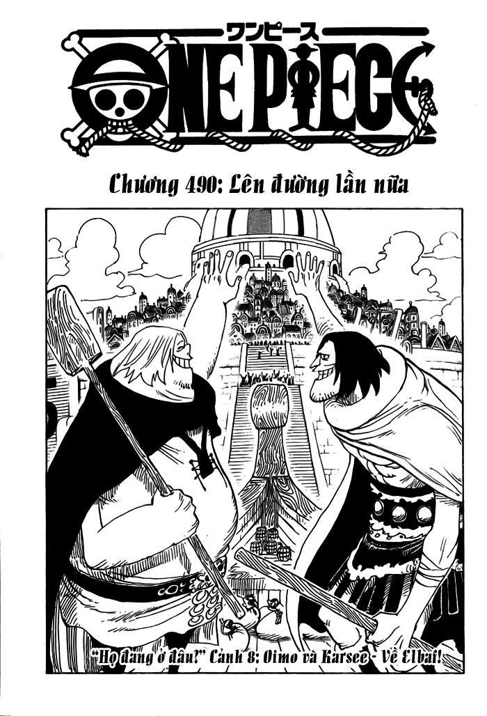 One Piece Chap 490 - Truyen.Chap.VN