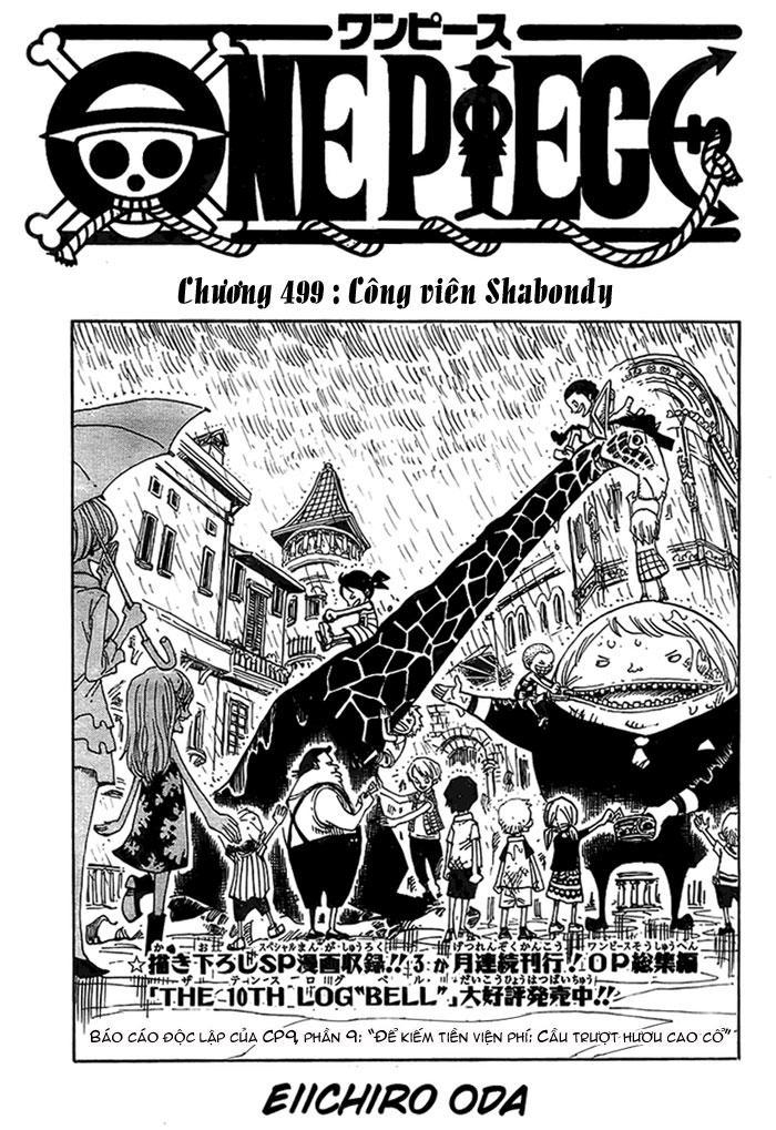 One Piece Chap 499 - Truyen.Chap.VN