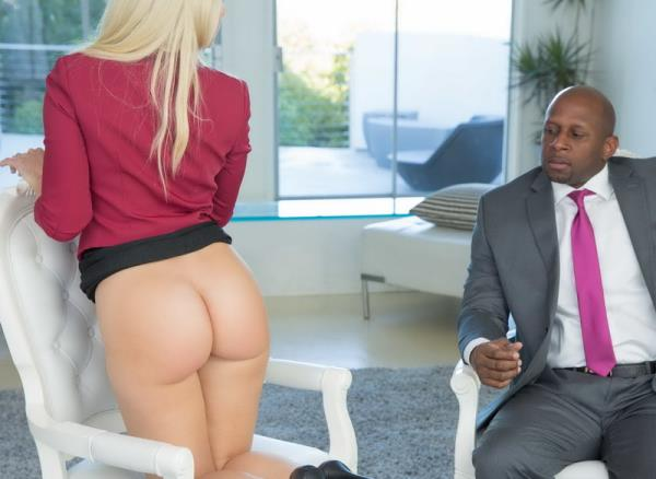 Blacked: Anikka Albrite - Business Blonde Wife Ass Fucked By a BBC (FullHD) - 2019