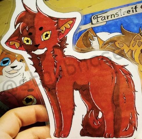 ♡Warrior Cats Lesezeichen und mehr♡ [OPEN] F45hvh9t
