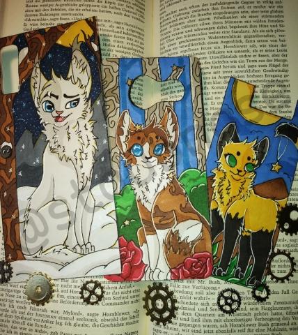 ♡Warrior Cats Lesezeichen und mehr♡ [OPEN] Gg8b3jqq