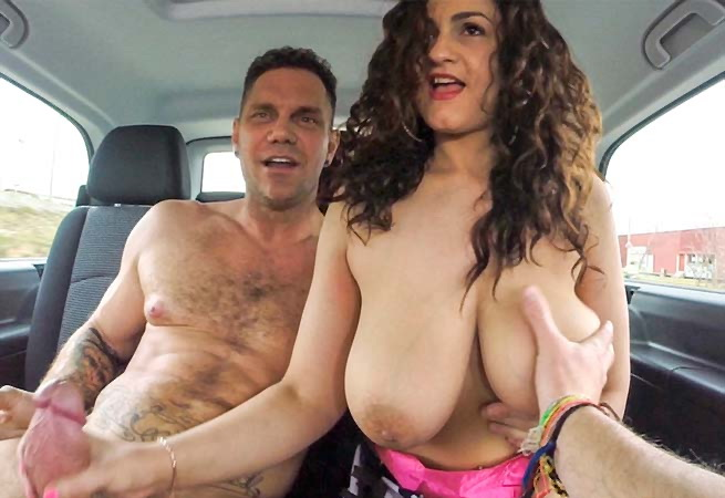 BangBus.com/BangBros.com - Sarah - Nacho Takes Over the Bus!!! [2019 FullHD] (Amateur, Big Ass, Big Tits, Bignatural Tits, Blowjob, Brunette, Cumshot, Facial, Handjob, Hardcore, Latina, Natural Tits)