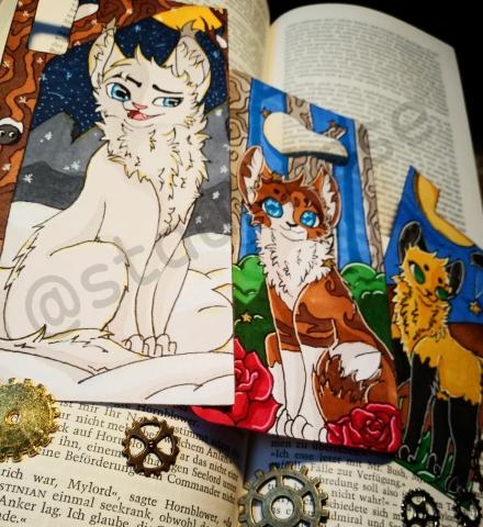 ♡Warrior Cats Lesezeichen und mehr♡ [OPEN] Xhai62uz