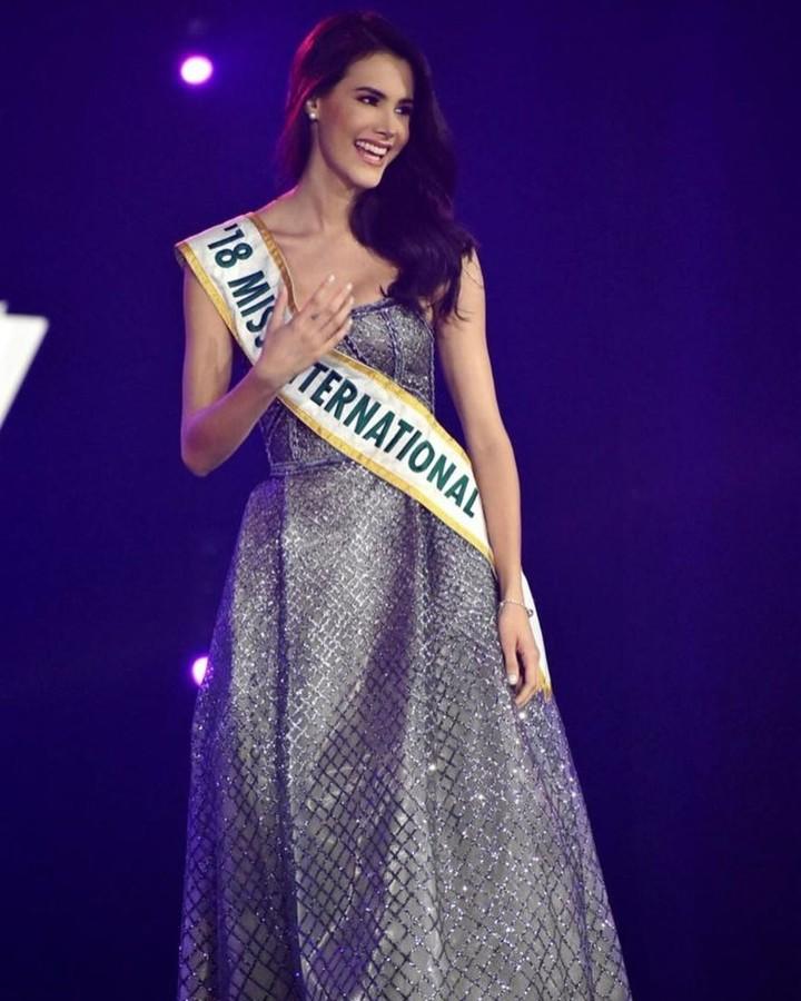 miss international 2018 durante final de senorita panama 2019. Fx96ygym