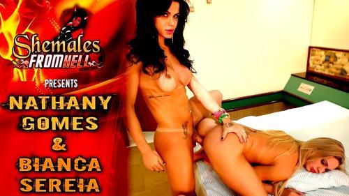 Nathany Gomes,Bianca Sereia - Hardcore (2019/ShemalesFromHell.com/HD)