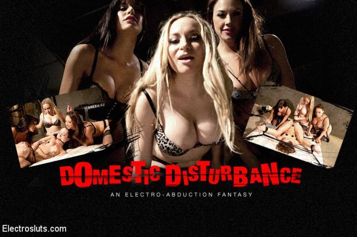 ElectroSluts/Kink - Aiden Starr, Gia DiMarco, Chanel Preston, Remy LaCroix - Domestic Disturbance An Electrosluts Reality Feature [2019 HD] (BDSM, Electric, Bondage, Hardcore, Domination, Lesbian)