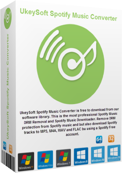 UkeySoft Spotify Music Converter v2.7.5 + Portable