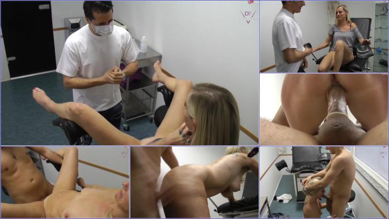 Dirty-Tina - Skandal beim Frauenarzt Herr Doktor ich will ficken
