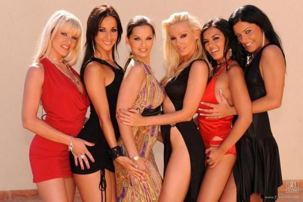 Sandy, Eve Angel, Jasmyne, Naomy, Natalli DiAngelo, Simone Peach - Share the fun (2019/HD)