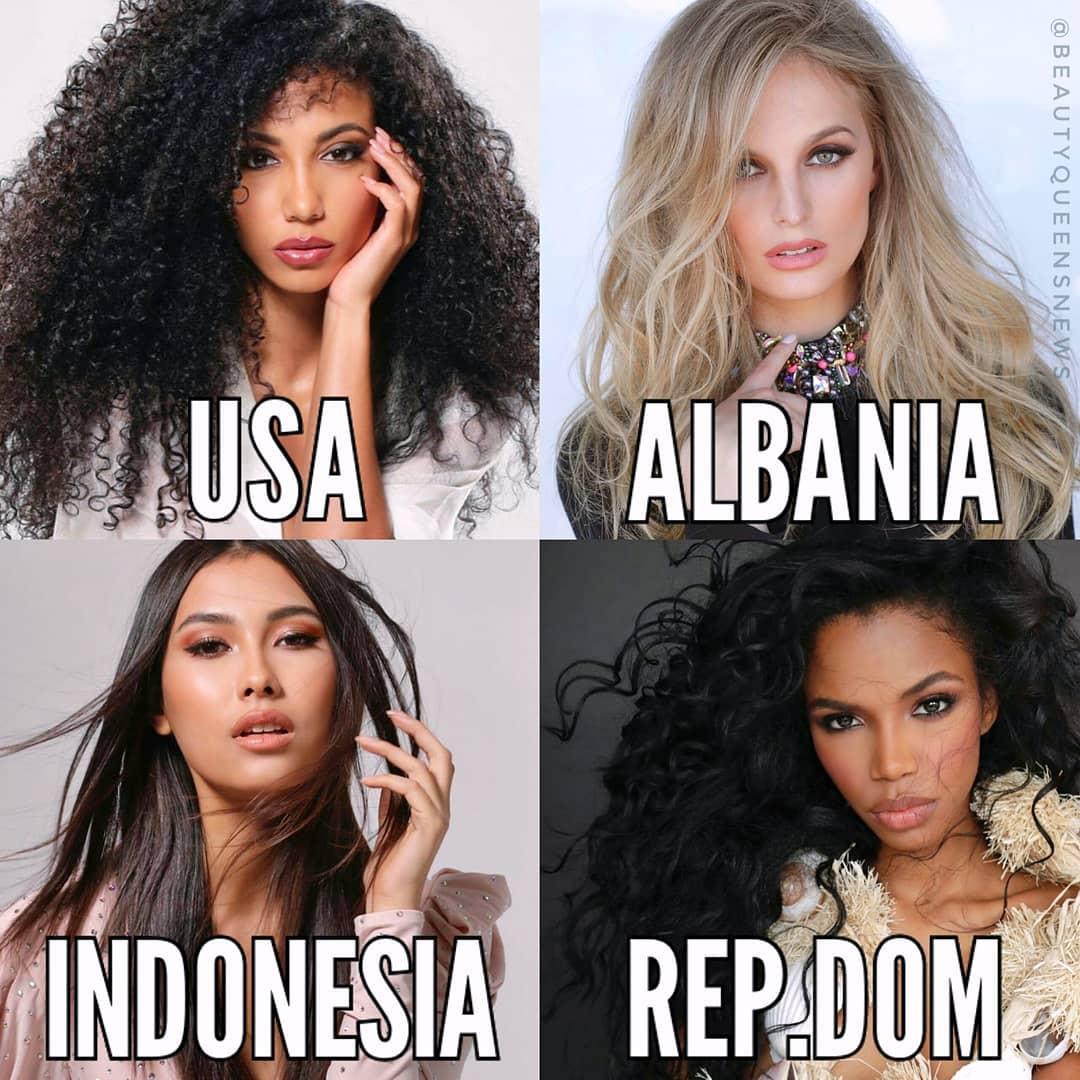 fotos de 4 candidatas a miss universe 2019, by fadil berisha. Nfnmm9qw