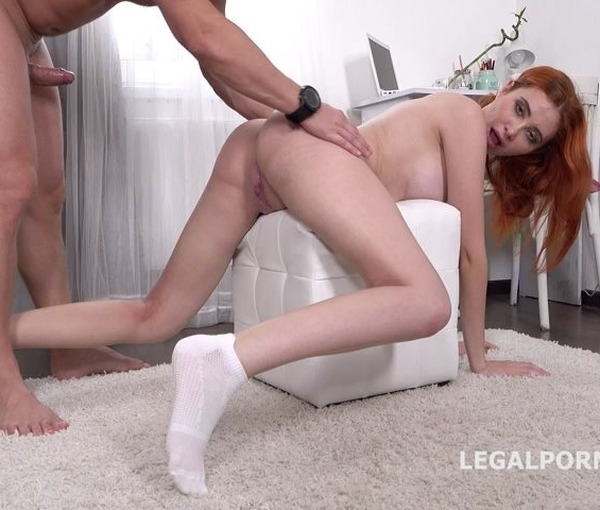 Mr. Anderson Anal Casting with Gisha Forza Balls Deep Anal, Gapes, Rough Sex, Cum in mouth GL068 720p