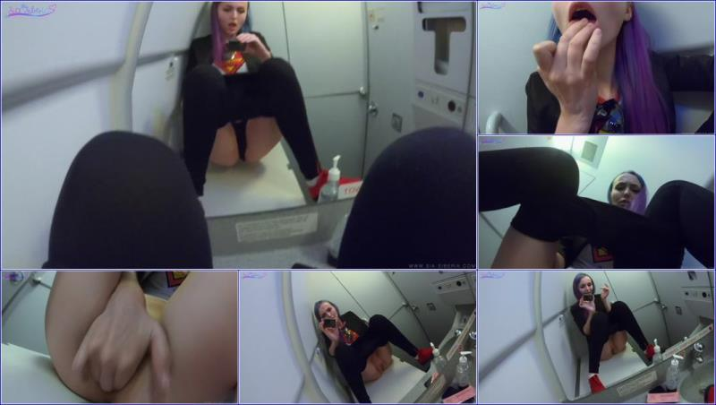 Sia Siberia - Jerking off my pussy in the airplane and cum Sia Siberia (2019/UltraHD 4K)