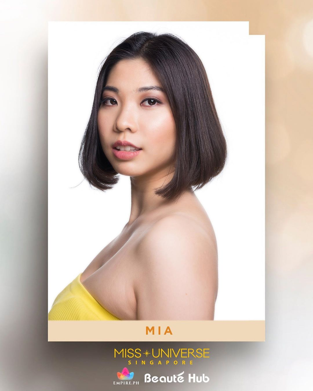 candidatas a miss universe singapore 2019. final: 17 oct. 73hgy2fy