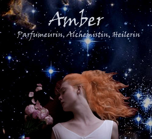 Amber and stars